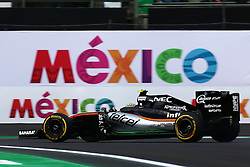 Sergio Perez (MEX) Sahara Force India F1 VJM09.<br /> 28.10.2016. Formula 1 World Championship, Rd 19, Mexican Grand Prix, Mexico City, Mexico, Practice Day.<br /> Copyright: Batchelor / XPB Images / action press