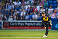 Andrew Salter of Glamorgan in action<br /> <br /> Photographer Craig Thomas/Replay Images<br /> <br /> Vitality Blast T20 - Round 4 - Glamorgan v Middlesex - Friday 26th July 2019 - Sophia Gardens - Cardiff<br /> <br /> World Copyright © Replay Images . All rights reserved. info@replayimages.co.uk - http://replayimages.co.uk