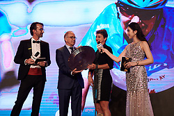 Shelley Gautier at The UCI Cycling Gala 2018 in Guilin, China on October 21, 2018. Photo by Sean Robinson/velofocus.com