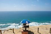 Lifeguard at Black's Beach - La Jolla - California