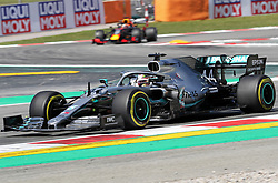 May 10, 2019 - Barcelona, Spain - Mercedes of Lewis Hamilton during the practices of the GP Spain Formula 1, on 10th May 2019, Barcelona, Spain. (Credit Image: © Joan Valls/NurPhoto via ZUMA Press)