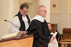 Carl T. Anderson Conferral Litterarum Humaniorum Doctor. A Service of Evensong Together with the Conferral of Honorary Degrees. 20 October 2015. Berkeley Divinity School at Yale University.