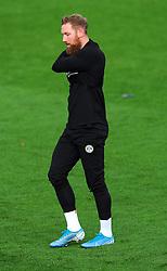 Scott Wagstaff of Forest Green Rovers prior to kick-off - Mandatory by-line: Nizaam Jones/JMP - 31/10/2020 - FOOTBALL - Jonny-Rocks Stadium - Cheltenham, England - Cheltenham Town v Forest Green Rovers - Sky Bet League Two