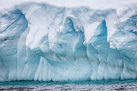 Stunning ice formations of Antarctica.