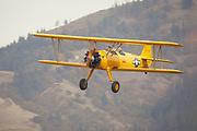 WAAAM's newly restored N2S-3 landing at Ken Jernstedt Field.