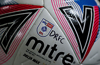 A match ball sits on a cone<br /> <br /> Photographer Alex Dodd/CameraSport<br /> <br /> The EFL Sky Bet League One - Doncaster Rovers v Blackpool - Tuesday 24th November 2020 - Keepmoat Stadium - Doncaster<br /> <br /> World Copyright © 2020 CameraSport. All rights reserved. 43 Linden Ave. Countesthorpe. Leicester. England. LE8 5PG - Tel: +44 (0) 116 277 4147 - admin@camerasport.com - www.camerasport.com