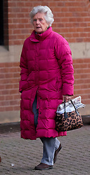 © Licensed to London News Pictures. <br /> 03/01/2017. <br /> Middlesbrough, UK.  <br /> <br /> Lady SUSAN ZETLAND, of the Zetland Estate, north of Richmond, arrives at Teesside Crown Court after being charged with dangerous driving following a crash on the A66 in July 2016.<br /> <br /> The 76-year-old, whose family owns 12,000 acres of North Yorkshire was behind the wheel of her £30,000 Subaru Outback 4X4 when it was involved in a collision with two HGVs and another car. <br /> <br /> Photo credit: Ian Forsyth/LNP