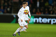 Tom Carroll of Swansea city in action. Premier league match, Swansea city v Southampton at the Liberty Stadium in Swansea, South Wales on Tuesday 31st January 2017.<br /> pic by  Andrew Orchard, Andrew Orchard sports photography.