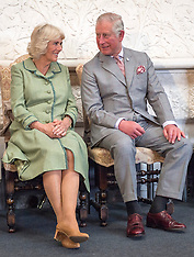 Ireland: The Prince of Wales and the Duchess of Cornwall - 11 May 2017