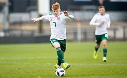 NEWPORT, WALES - Tuesday, November 19, 2019: Wales' Samuel Pearson during the UEFA Under-19 Championship Qualifying Group 5 match between Kosovo and Wales at Rodney Parade. (Pic by Laura Malkin/Propaganda)