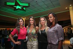 Marisa Kanieski, Candi Kanieski, Fernanda Roza e Michele Silveira Souza durante o Happy Hour Heineken, no Viva Open Mall, em Porto Alegre. FOTO: Jefferson Bernardes/ Agência Preview