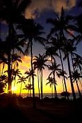Sunset, Wailea, Maui, Hawaii, USA<br />