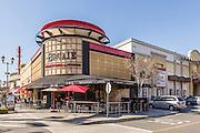 Bruxie Restaurant Corner of Birch and Walnut in Downtown Brea