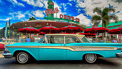 The Edsel was an automobile marque that was planned, developed, and manufactured by the Ford Motor Company during the 1958, 1959, and 1960 model years. With the Edsel, Ford had expected to make significant inroads into the market share of both General Motors and Chrysler and close the gap between itself and GM in the domestic American automotive market. But contrary to Ford's internal plans and projections, the Edsel never gained popularity with contemporary American car buyers and sold poorly. The Ford Motor Company lost millions of dollars on the Edsel's development, manufacturing and marketing.<br />