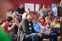 DEU, Deutschland, Germany, Berlin, 24.05.2019: Michael Kellner, politischer Bundesgeschäftsführer von BÜNDNIS 90/DIE GRÜNEN, beim Startschuss zum Wahlkampf-Endspurt von BÜNDNIS 90/DIE GRÜNEN zur Europawahl im Osthafen.