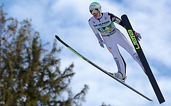 03.01.2014, Bergisel Schanze, Innsbruck, AUT, FIS Ski Sprung Weltcup, 62. Vierschanzentournee, Qualifikation, im Bild Peter Prevc (SLO) // Peter Prevc (SLO) during qualification Jump of 62nd Four Hills Tournament of FIS Ski Jumping World Cup at the Bergisel Schanze, <br /> Innsbruck, Austria on 2014/01/03. EXPA Pictures © 2014, PhotoCredit: EXPA/ JFK