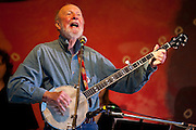 Pete Seeger at Clearwater Festival, Croton-on-Hudson, NY 6/16/12
