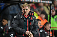AFC Bournemouth manager, Eddie Howe  during the Premier League match between Bournemouth and Arsenal at the Vitality Stadium, Bournemouth, England on 3 January 2017. Photo by Adam Rivers.