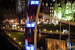 Ferris wheel.<br /> Edinburgh's Hogmanay 2013.