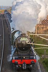 Flying Scotsman | Berwick Upon Tweed  | 14 May 2016