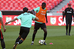 October 8, 2017 - Lisbon, Lisbon, Portugal - Portugals midfielder William Carvalho in action during National Team Training session before the match between Portugal and Switzerland at Luz Stadium in Lisbon on October 8, 2017. (Credit Image: © Dpi/NurPhoto via ZUMA Press)