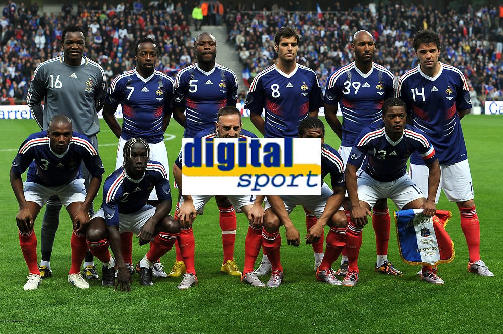FOOTBALL - FRIENDLY GAME 2010 - FRANCE v COSTA RICA - 26/05/2010 - TEAM FRANCE<br /> PHOTO FRANCK FAUGERE / DPPI