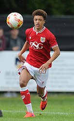 Ash Harper of Bristol City - Photo mandatory by-line: Dougie Allward/JMP - Mobile: 07966 386802 - 05/07/2015 - SPORT - Football - Bristol - Brislington Stadium - Pre-Season Friendly