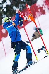 during Ladies' Giant Slalom at 57th Golden Fox event at Audi FIS Ski World Cup 2020/21, on January 17, 2021 in Podkoren, Kranjska Gora, Slovenia. Photo by Vid Ponikvar / Sportida