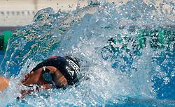 Jan Karel Petric at swimming competition of EYOF 2007 (European Youth Olympic Festival) in Belgrade, 21. - 28. July 2007,  Tasmajdan pool, Belgrade, Serbia. (Photo by Vid Ponikvar / Sportida)