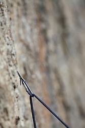 carabiner, climbing Rope, Granite wall, Rock Climbing, Jackson Hole, Wyoming