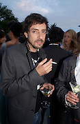 Olivier Garbay. The Serpentine Summer party co-hosted by Jimmy Choo. The Serpentine Gallery. 30 June 2005. ONE TIME USE ONLY - DO NOT ARCHIVE  © Copyright Photograph by Dafydd Jones 66 Stockwell Park Rd. London SW9 0DA Tel 020 7733 0108 www.dafjones.com