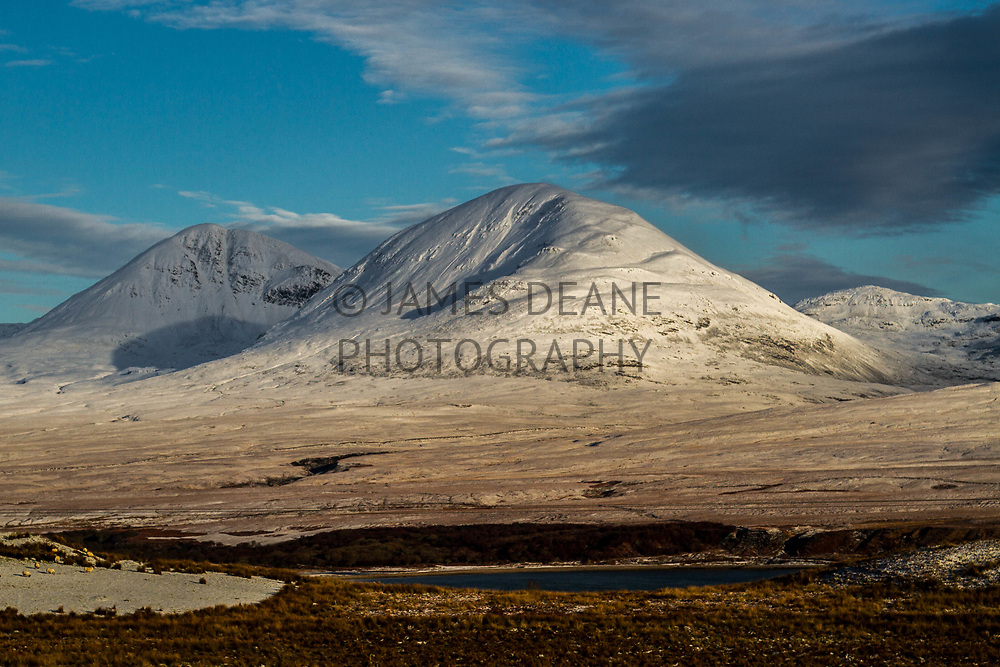 The Paps of Jura in Winter coating