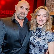 NLD/Rotterdam/20180122 - Première Ma, Loek Peters en partner Ilse Heus