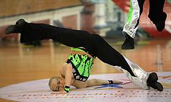 Campuksen Koonto, Finland at European Cheerleading Championship 2008, on July 5, 2008, in Arena Tivoli, Ljubljana, Slovenia. (Photo by Vid Ponikvar / Sportal Images).