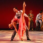 GASTON DE CARDENAS / EL NUEVO HERALD -- MIAMI, FL --  4/17/2009 -- Jeanette Delgado and Rolando Sarabia principle dancers  in The Quick-Step e part of Miami City Ballet presention of Open Barre 3 a sneak preview into the 2009-2010 season at the Miami City Ballet Studios on Miami Beach.