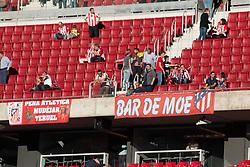 October 28, 2017 - Madrid, Spain - Atletico de Madrid supporters..Draw at 1 in Wanda Metropolitano stadium. (Credit Image: © Jorge Gonzalez/Pacific Press via ZUMA Wire)