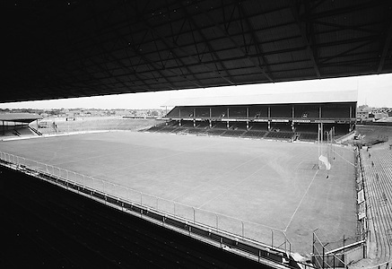 Views of Croke Park from the Cusack stand on the 20th of July 1974.