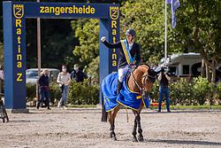 Verlooy Jos, BEL, Varoune<br /> Belgisch Kampioenschap Jumping  <br /> Lanaken 2020<br /> © Dirk Caremans<br /> 05/09/2020