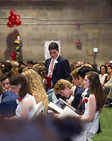 St Paul's School Graduation Day.  ©2016 Karen Bobotas Photographer