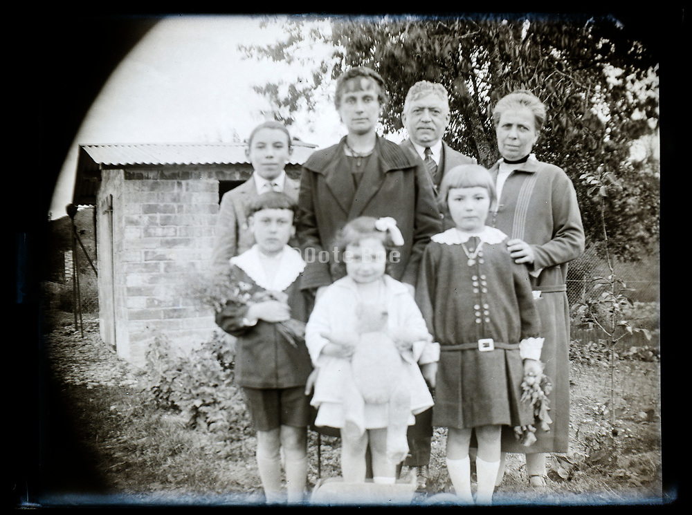 family portrait 1926 France
