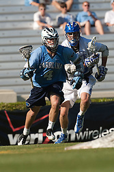 26 April 2009: North Carolina Tar Heels attackman Billy Bitter (4) during a 15-13 loss to the Duke Blue Devils during the ACC Championship at Kenan Stadium in Chapel Hill, NC.
