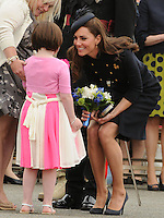 WINDSOR, UK: The Duchess of Cambridge presents Operational Medals to the Irish Guards at Victoria Barracks, Windsor, on the 24th June 2011..PHOTOGRAPH BY JAMES WHATLING