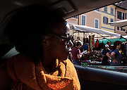 Rome, the writer Taiye Selasi, Campo dei Fiori