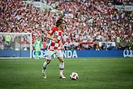 Luka Modric of Croatia during the 2018 FIFA World Cup Russia, final football match between France and Croatia on July 15, 2018 at Luzhniki Stadium in Moscow, Russia - Photo Thiago Bernardes / FramePhoto / ProSportsImages / DPPI