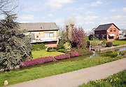 Farmhouses and greenhouses, Maasluis, Netherlands