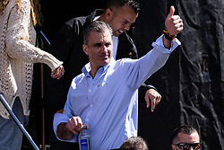 March 30, 2019 - Barcelona, BARCELONA, SPAIN - Javier Ortega Smith general secretary of Vox speaks during the rally of far right political party Vox in Barcelona on 30 of March, Spain. (Credit Image: © AFP7 via ZUMA Wire)