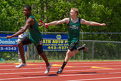 boys 4x100 meter relay, Maine State Track & FIeld Meet - Class B