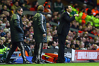 Football - FA Cup Fifth Round - Liverpool vs. Brighton and Hove Albion<br /> Brighton's manager Gus Poyet at Anfield
