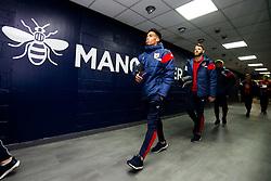 Zak Vyner of Bristol City arrives - Rogan/JMP - 09/01/2018 - Etihad Stadium - Manchester, England - Manchester City v Bristol City - Carabao Cup Semi Final First Leg.