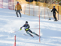 Men's FIS NJR Slalom at Waterville Valley, New Hampshire January 21, 2010.
